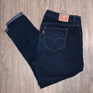 Levi's Mid Rise Shaping Skinny Jean